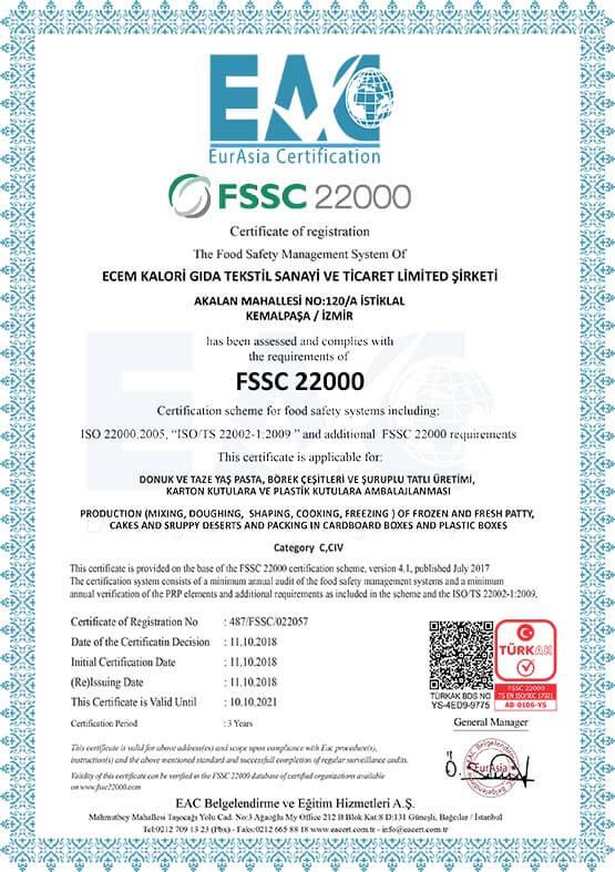 Ecem EAC 487 FSSC 022057 b1 Tu Rk Ak Qr 2018