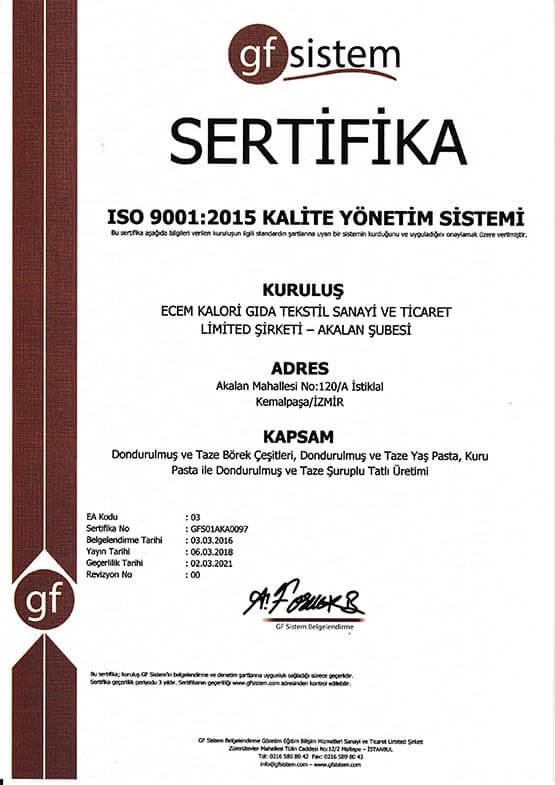 Ecem İso 9001-2015